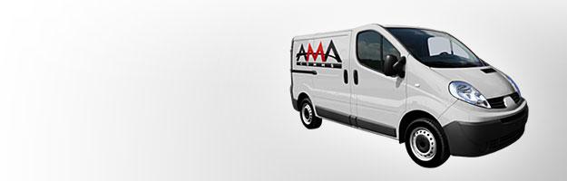 AMA Comms Van